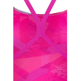 adidas Perf Swim Inf+ Swimsuit Women shock pinkbright blue/sun glow